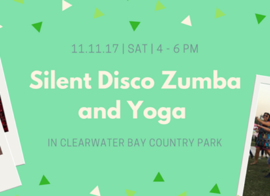 SILENT DISCO YOGA AND ZUMBA IN CLEARWATER BAY COUNTRY PARK